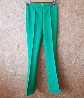Flared Green Pants