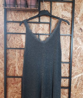 Boho Top Dark Green