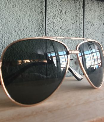 Pilot Sunglasses gold black